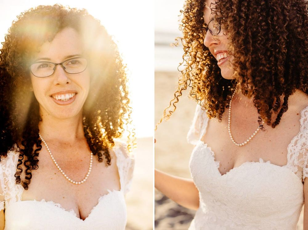 beach bridal portraits in carlsbad, CA