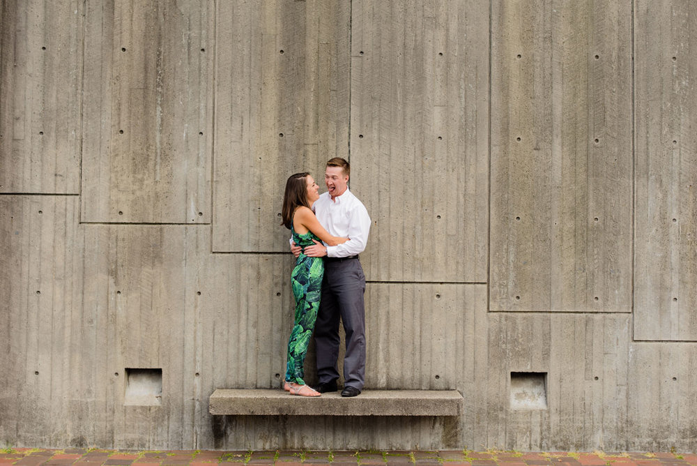 boston  fun lifestyle engagement photography