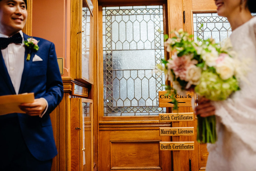 getting eloped in cambridge city hall