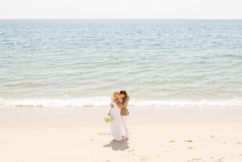 racepoint beach p-town elopement destination