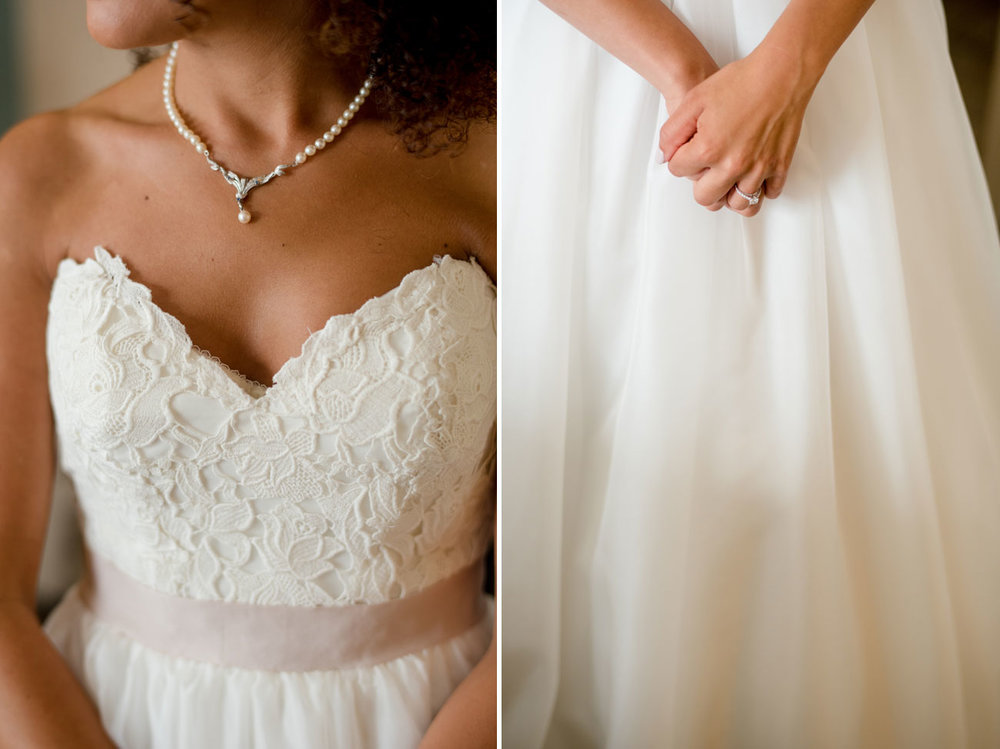 stunning bride portraits and details of dress