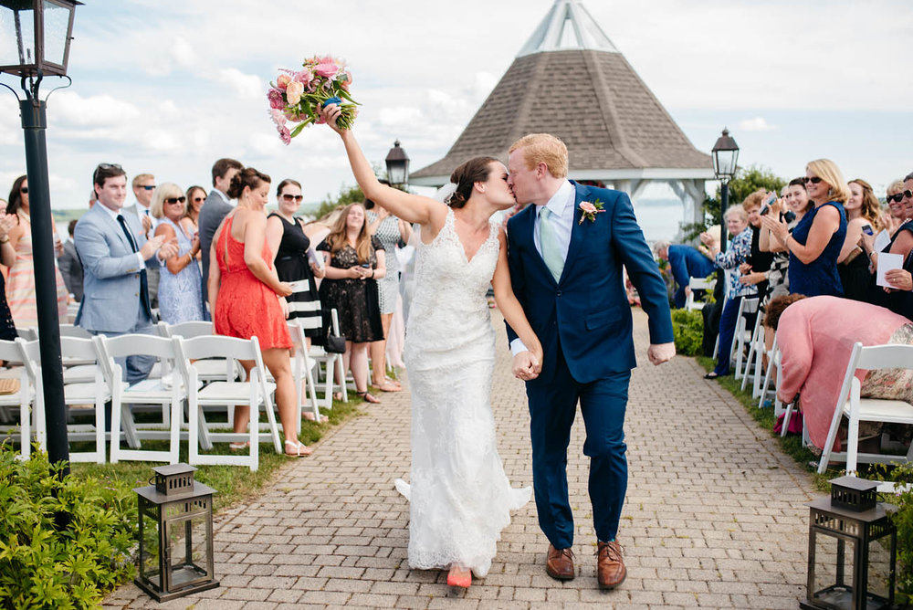 outdoors weddings in maine