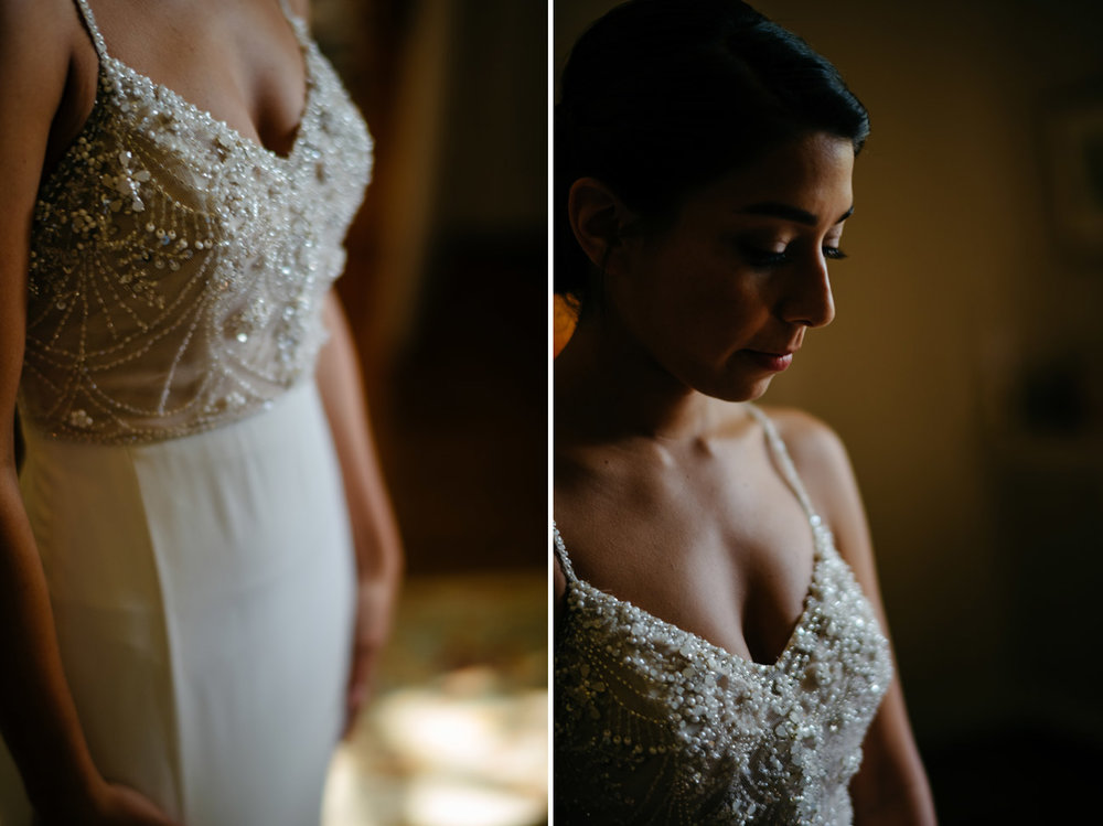 moody and stunning bridal portraits at the moraine farm estates