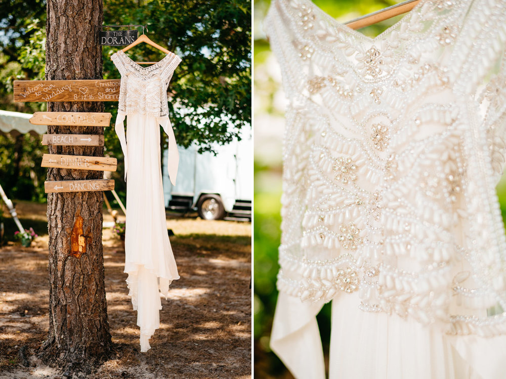 beautiful cape cod bride wedding dress