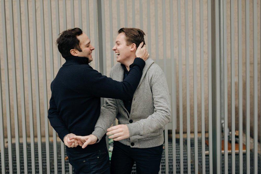 same-sex boston engagement photos