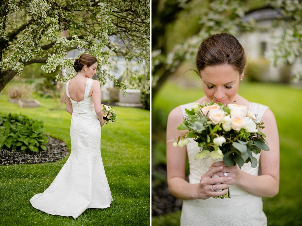 lovely bridal portraits and wedding inspiration in scituate