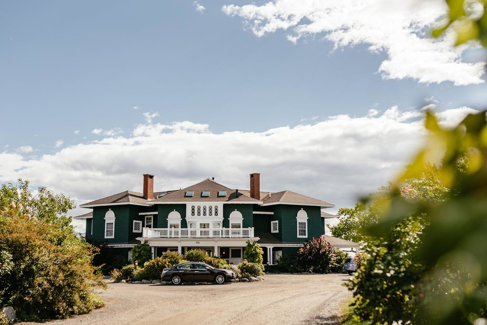 coastal maine wedding inspiration and private estates to get married in
