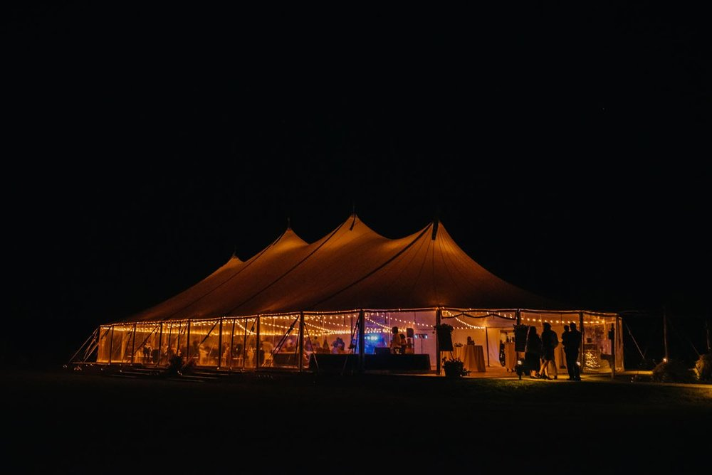 wedding tents and rentals style me pretty frenchs point wedding at night