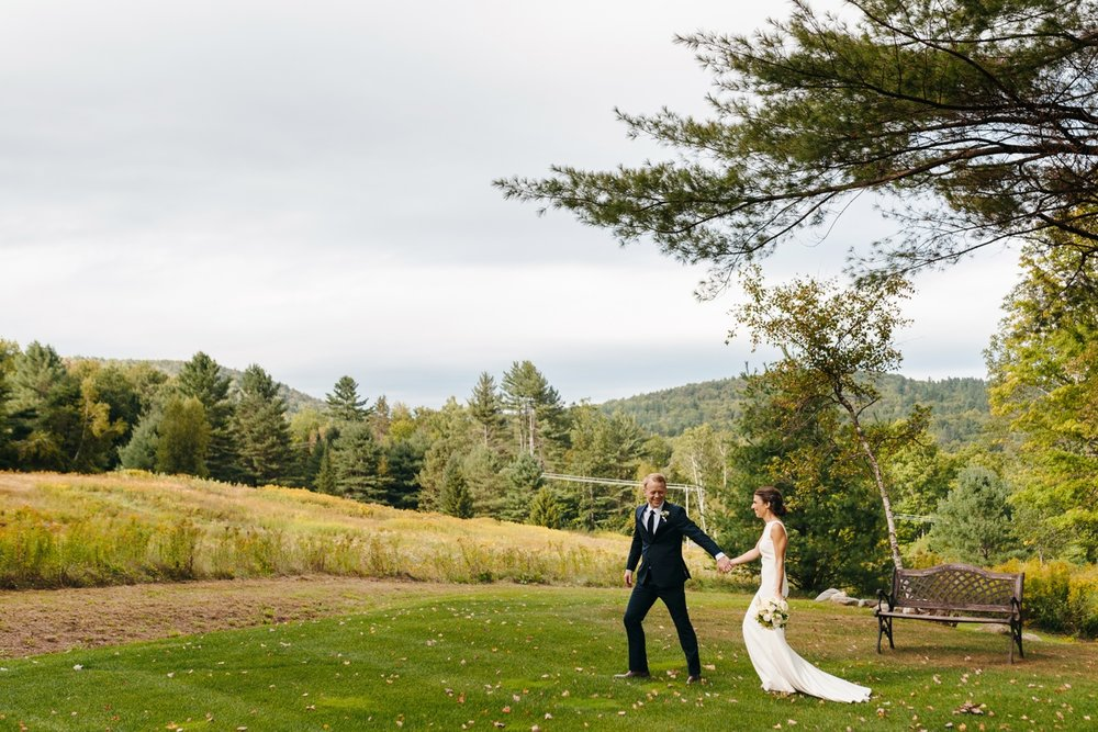 mountain wedding inspiration in vermont