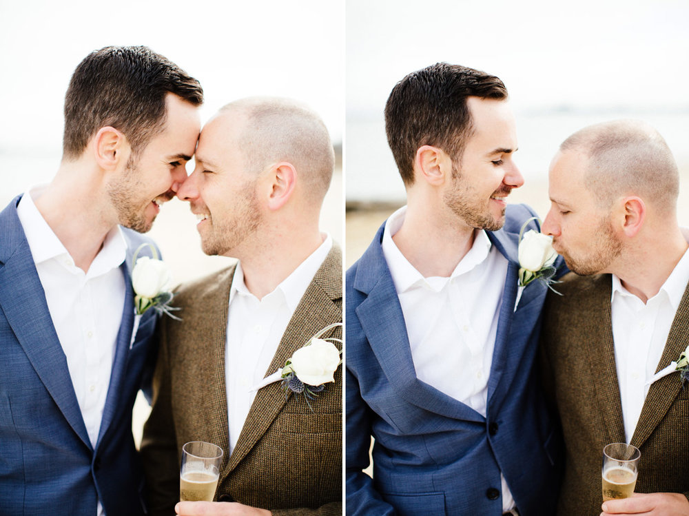 beautiful same sex wedding photos and inspiration in provincetown