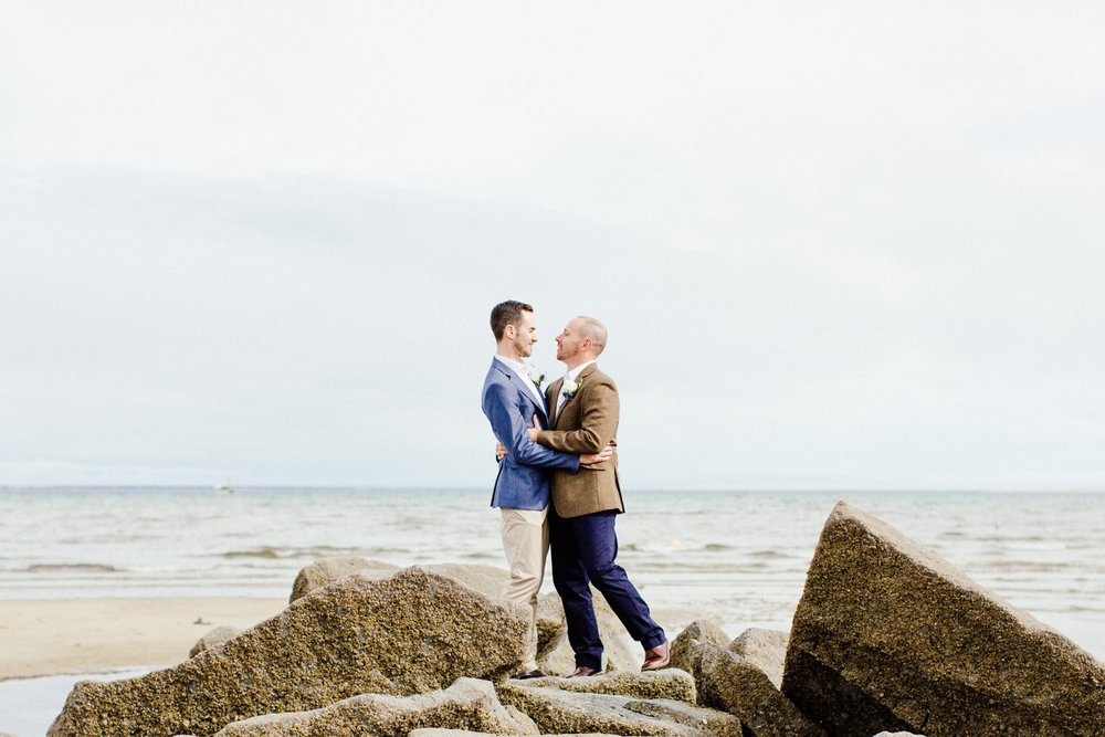 provincetown same sex wedding portraits and photography