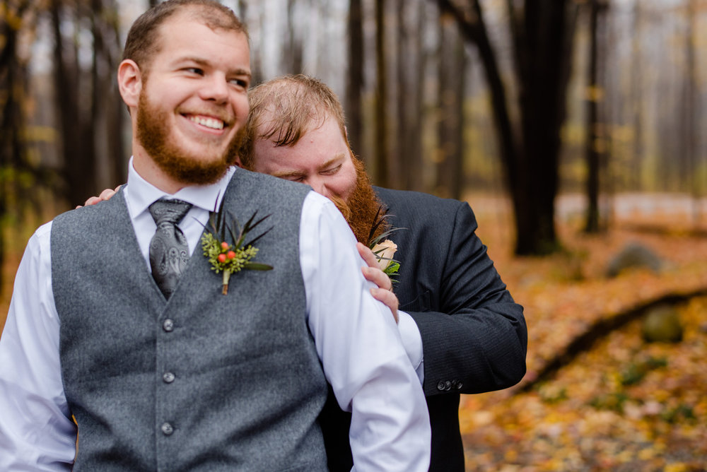 groom hiding at the ban on walnut hill in maine