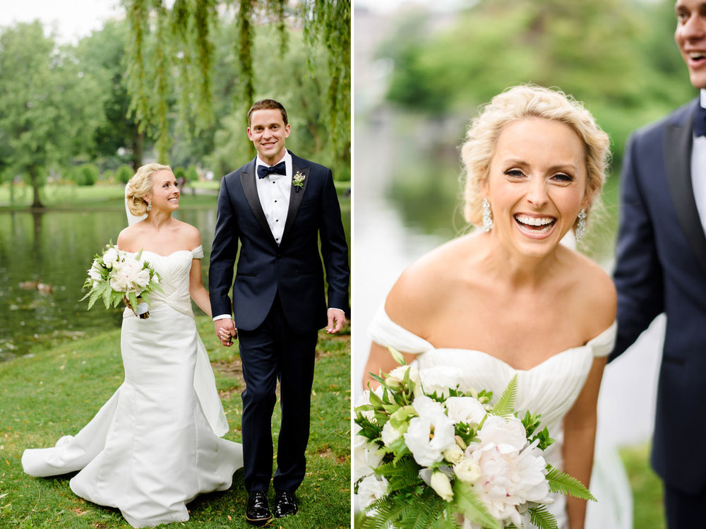 timeless public garden wedding photos