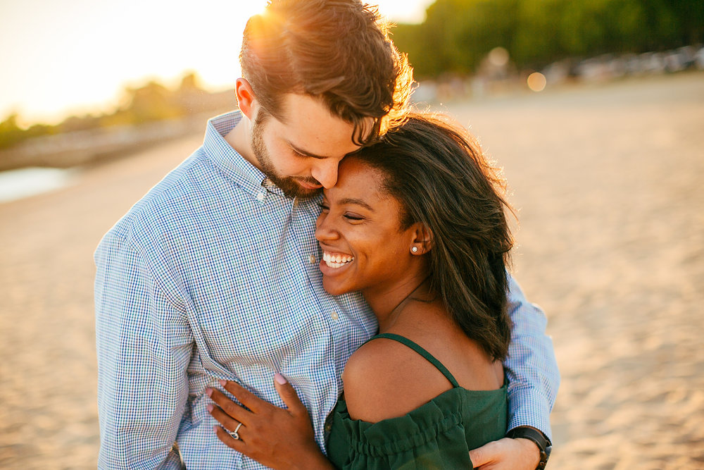 boston sunset engagement photos and ideas