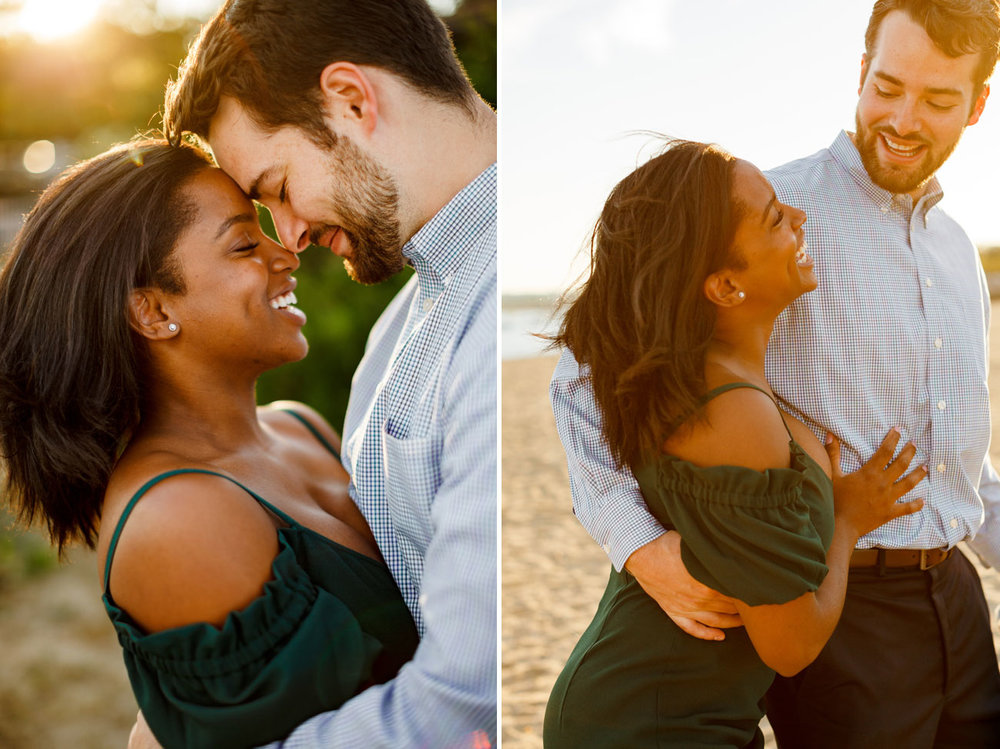 stunning boston engagement portraits