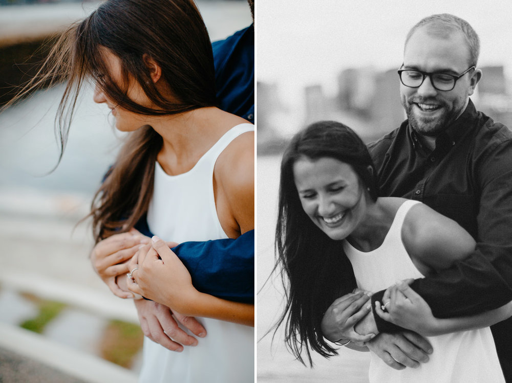 East boston lifestyle engagement photos