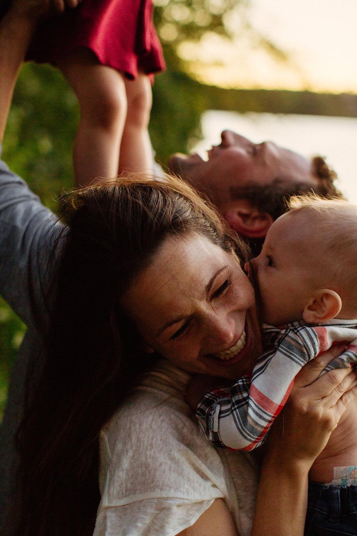 fun boston lifestyle family photography