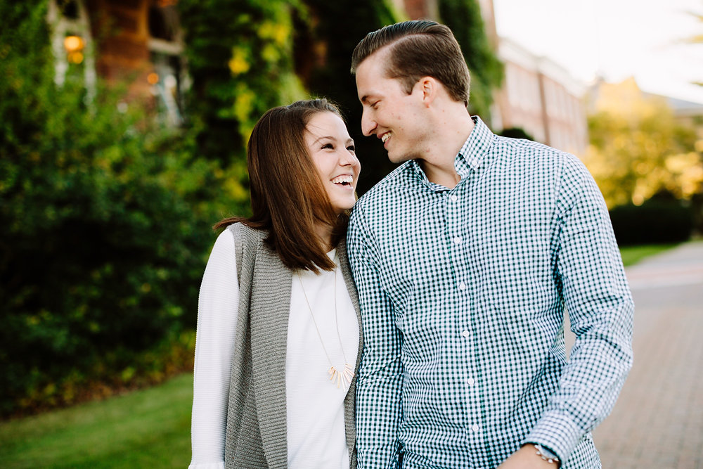 st. anselm engagement photos in the fall