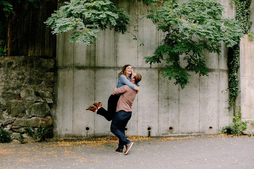 creative lifestyle boston engagement photos