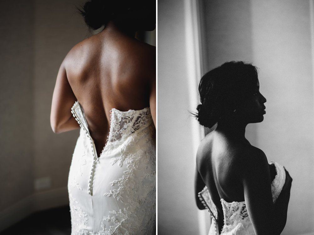 intimate bridal portraits in boston at the boston park plaza hotel
