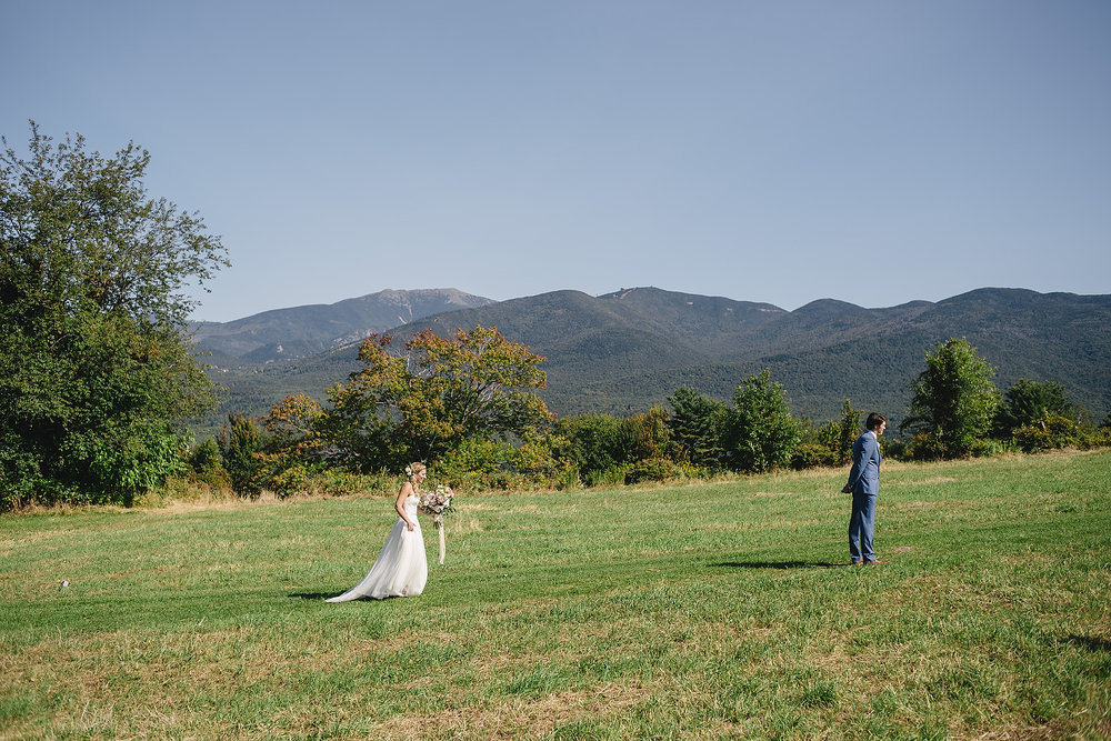 new hampshire mountain wedding photographer