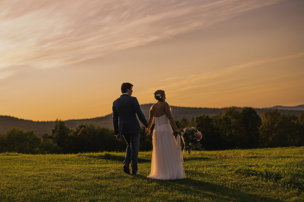 white mountains sunset wedding portraits and inspiration