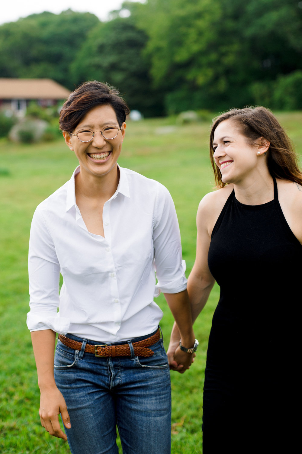 rhode island same sex engagement photography