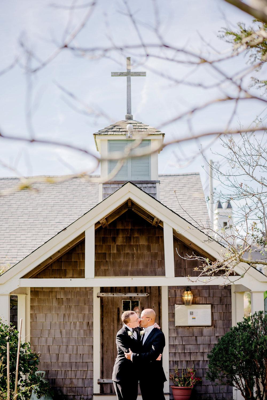 provincetown monument same-sex wedding photos