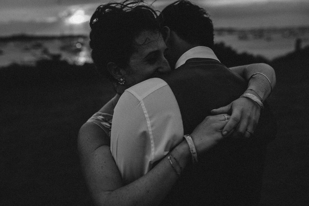 sunset wedding portrait and photo inspiration  The Sullivan House on block island