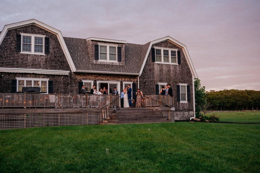 intimate and private small weddings on martha's vineyard