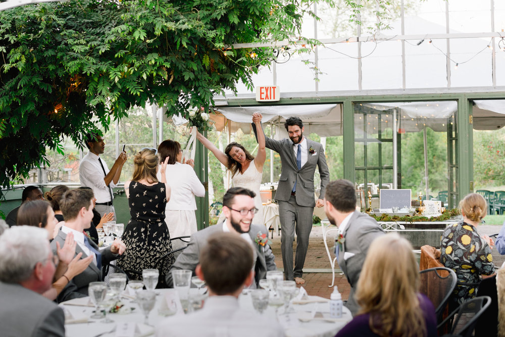 inside the common man inn wedding venue greenhouse photos