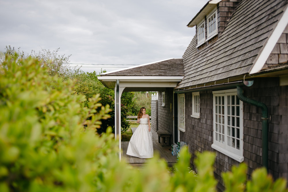 provincetown cape cod wedding with bride beach weddings