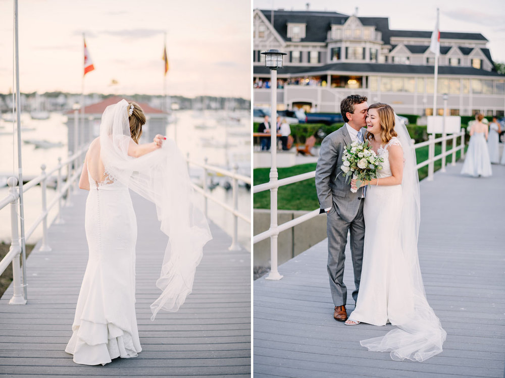 sunset portraits at the eastern yacht club