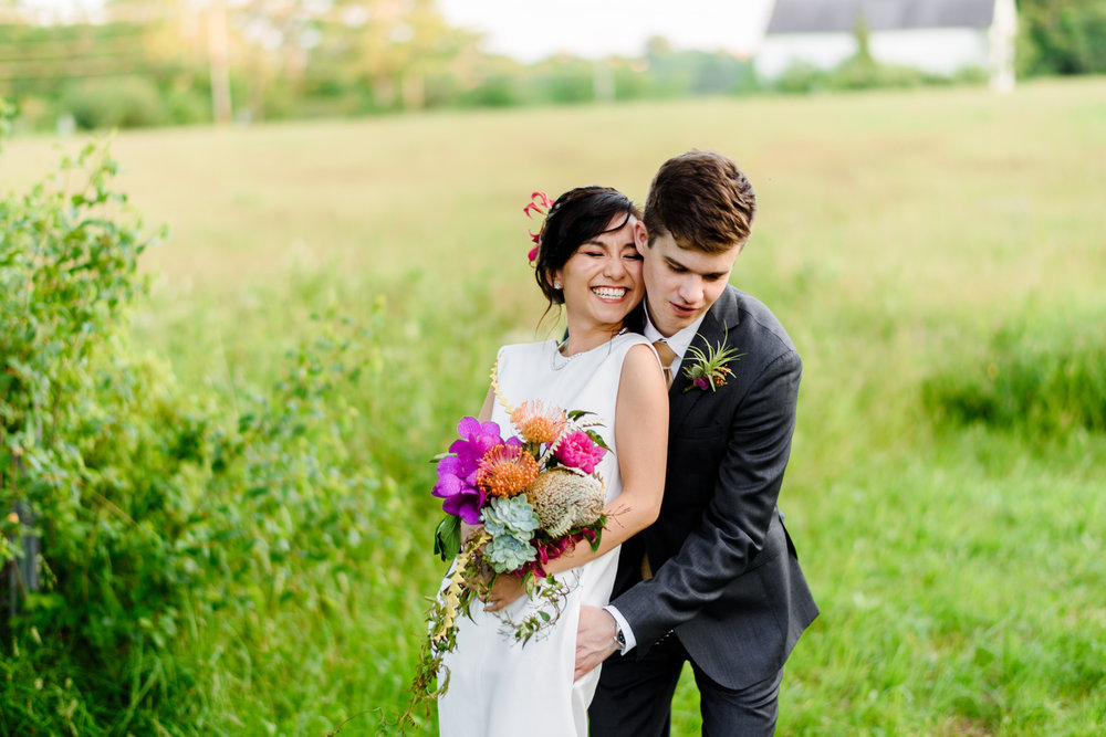 outdoor mountains of new hampshire wedding poses and portraits