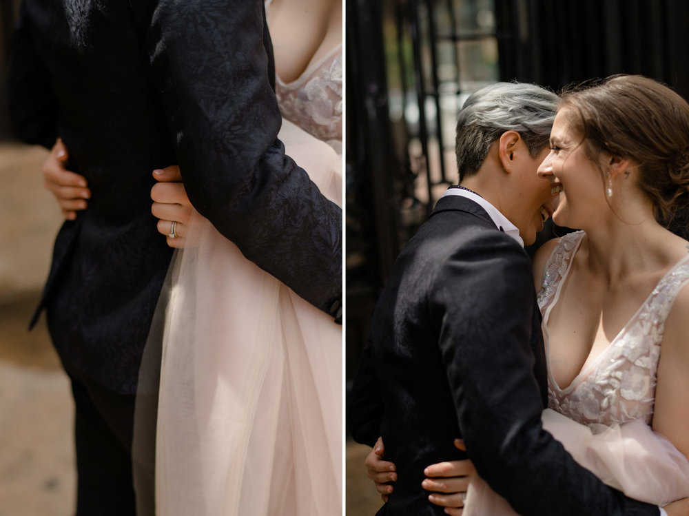 intimate same sex wedding elopement in boston photos and inspiration