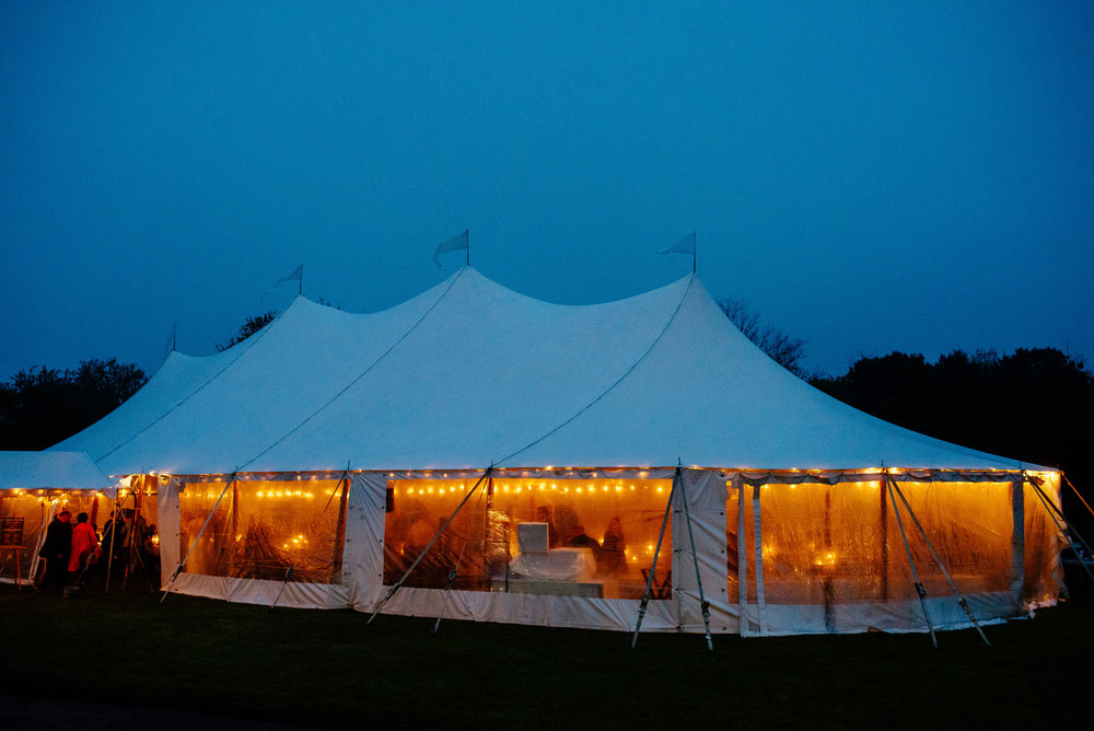 the dennis inn at night wedding venue photos