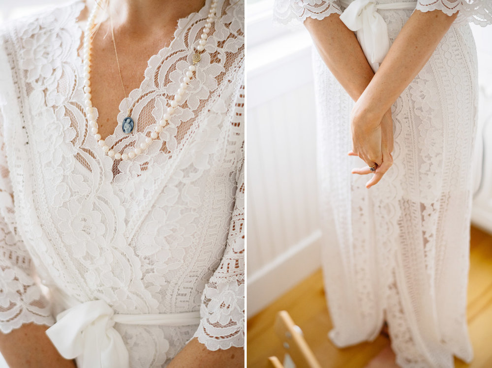 classy and luxury bride in nantucket details