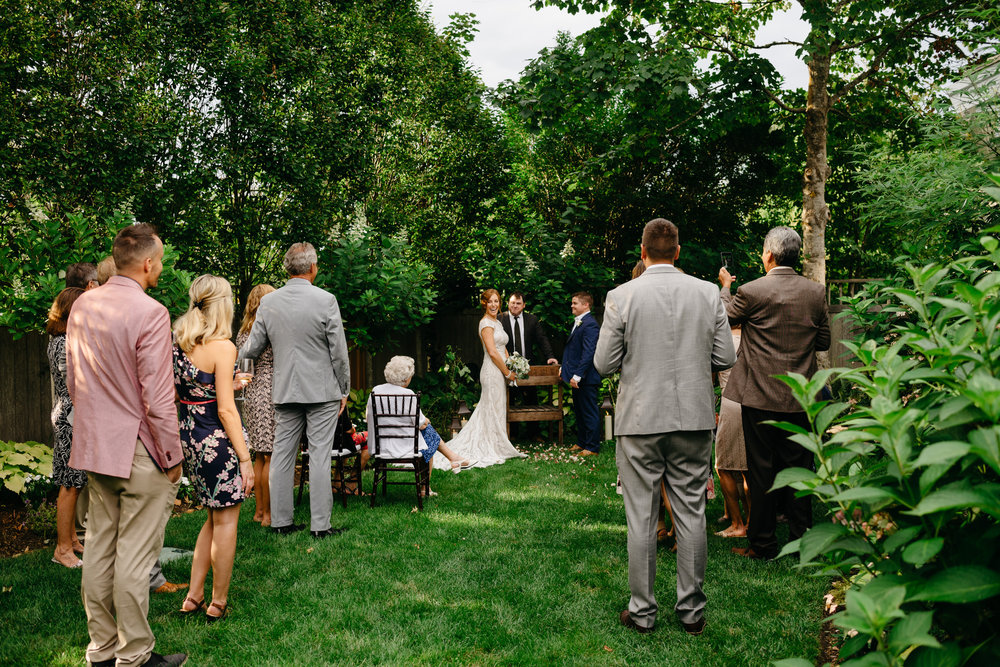 backyard nantucket wedding planning
