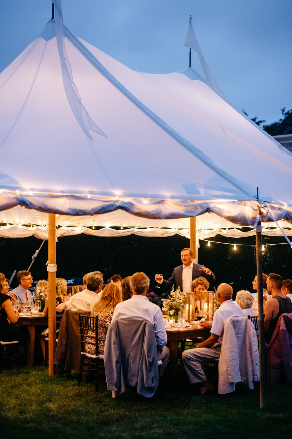 new england wedding tents and private small tents