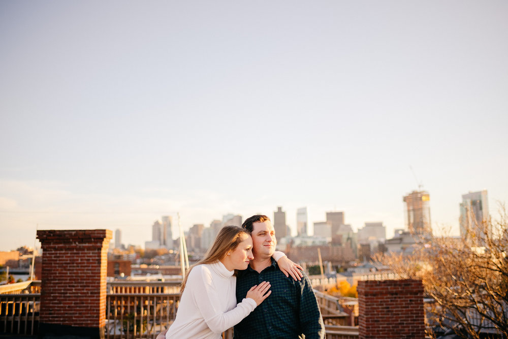 boston city views and engagement photo ideas