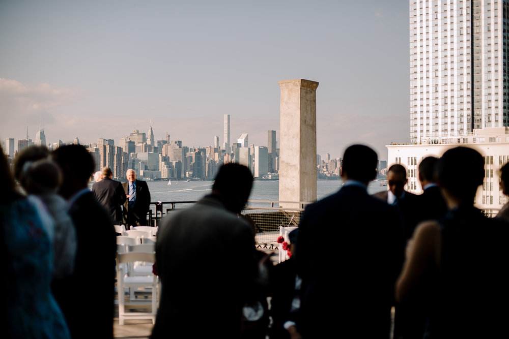 rooftop wedding venue ideas in brooklyn with city view