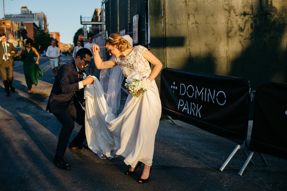 The Green Building wedding photos in brooklyn