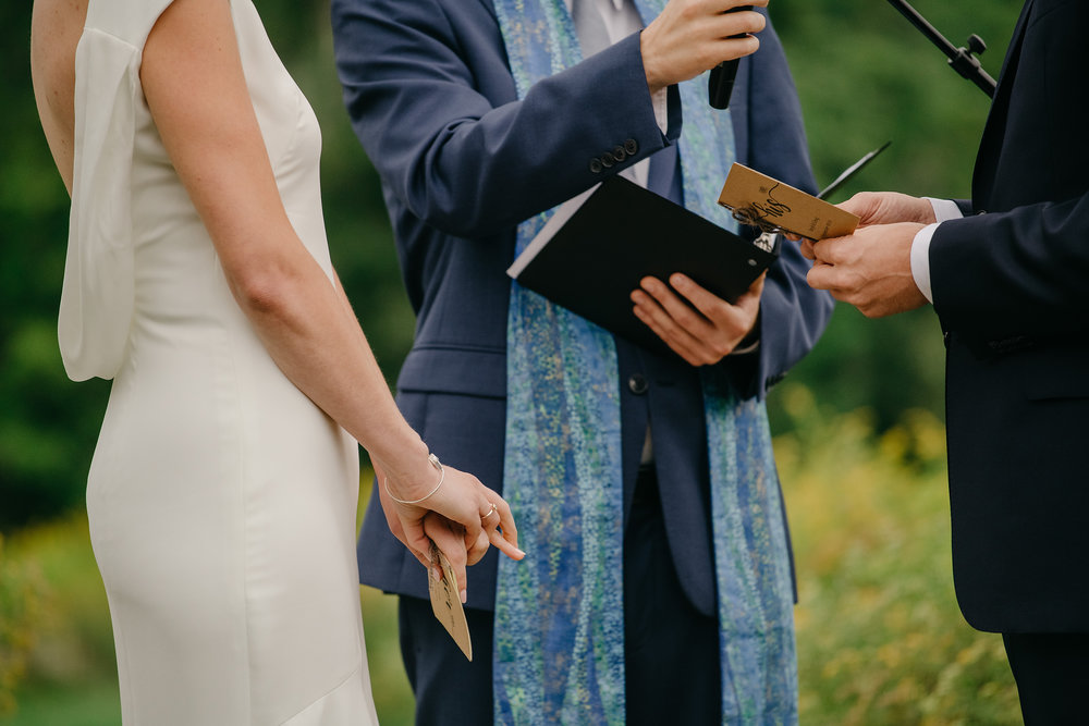 Montague Retreat Center wedding