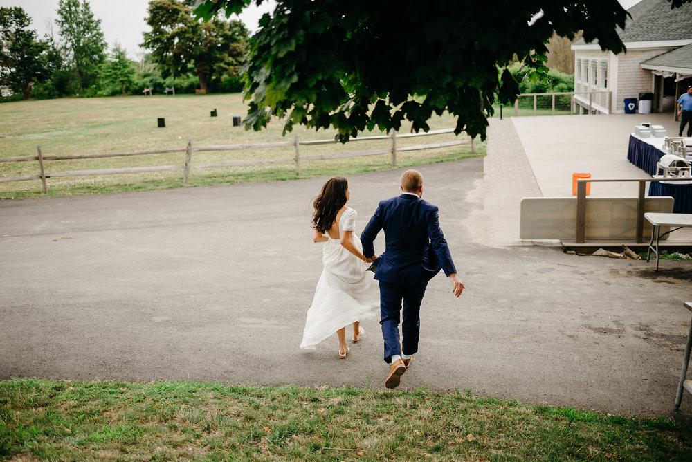 thompson island wedding waterfront wedding venues