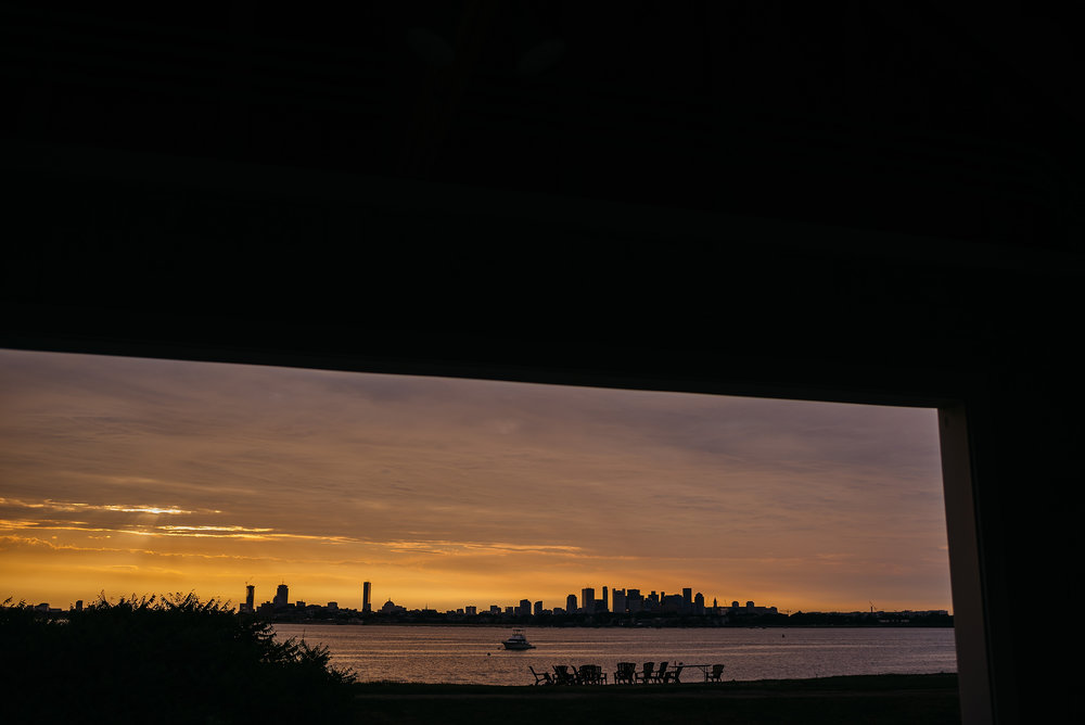 incredible boston sunset wedding photos