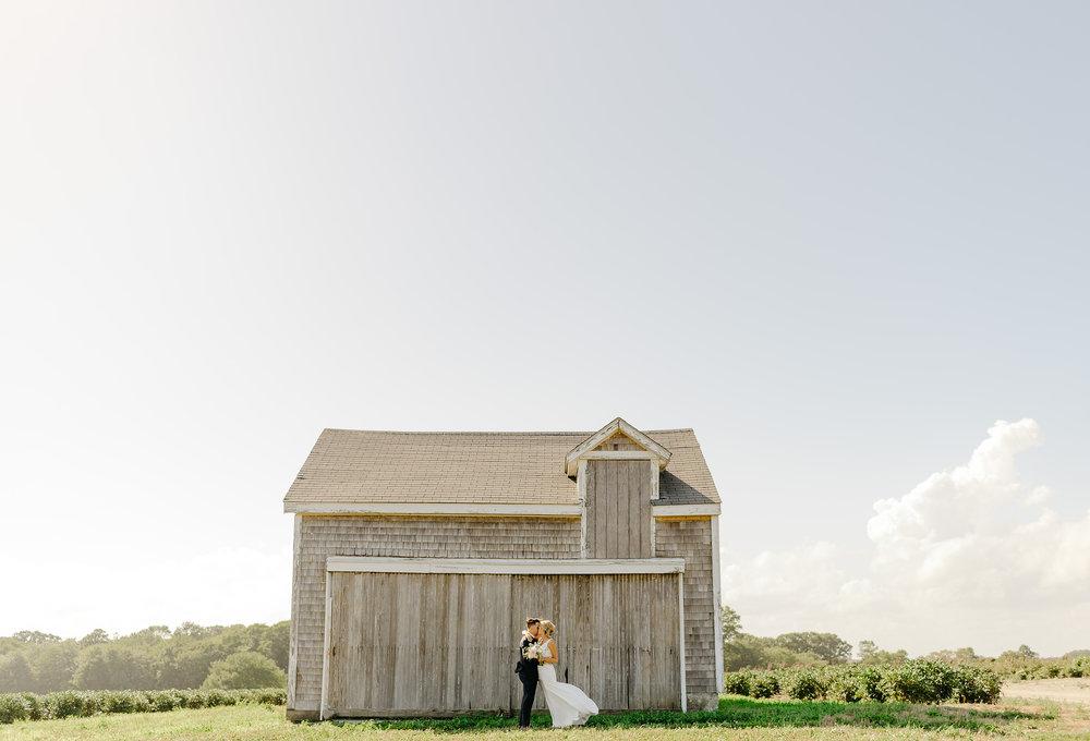 amazing newport vineyards wedding portrait of barn