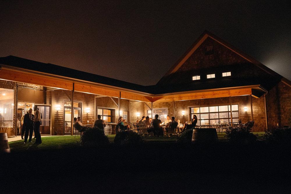 newport vineyards night photos