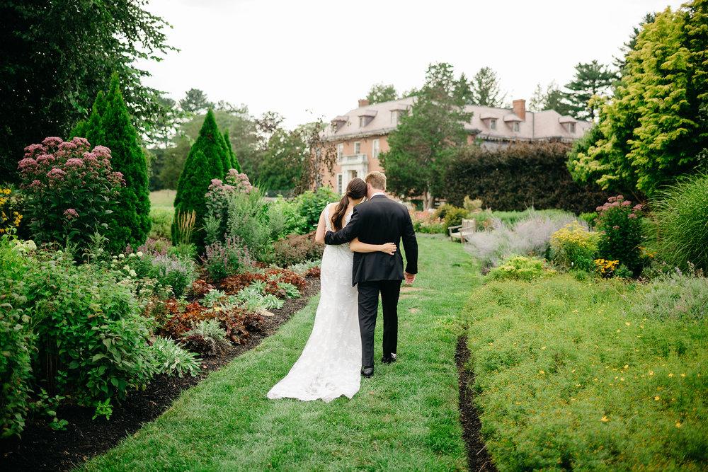 Massachusetts Horticultural Society - The Gardens at Elm Bank wedding