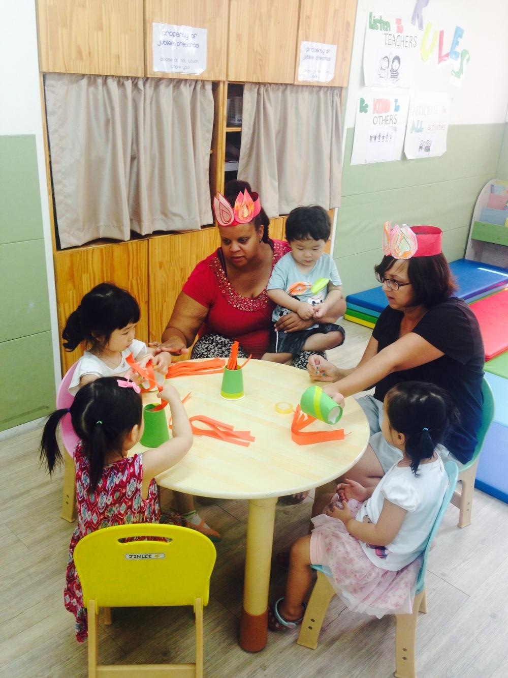 Jubilee Service Project: Preschool