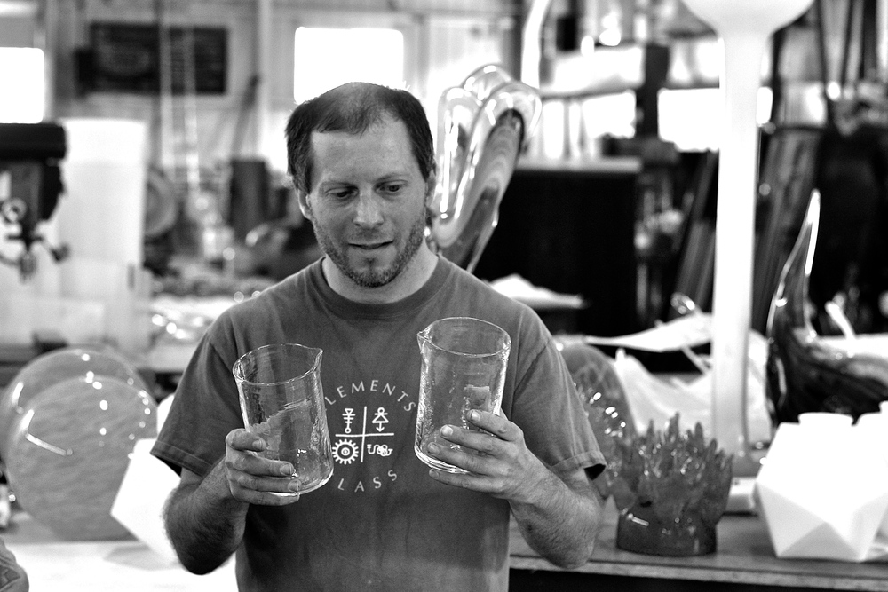 Meet Aaron Frankel of Elements Glass, our incredible glass manufacturer based in Northwest Portland.